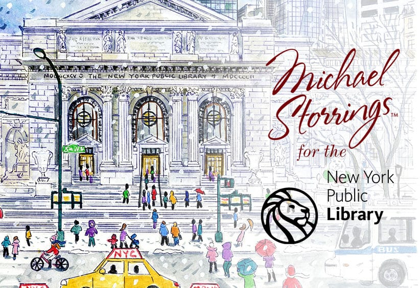 Michael and the New York Public Library
